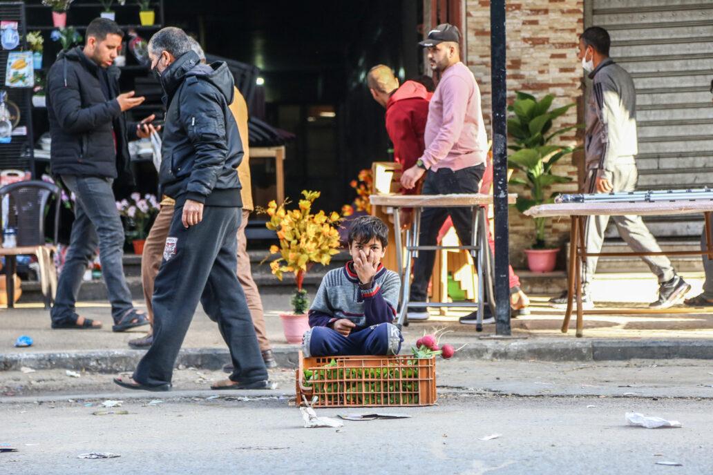 طفل من غزة
